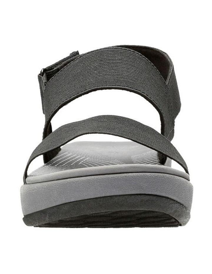 Arla Jacory Black Elastic Sandal image 3