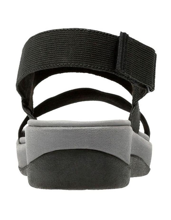 Arla Jacory Black Elastic Sandal image 5