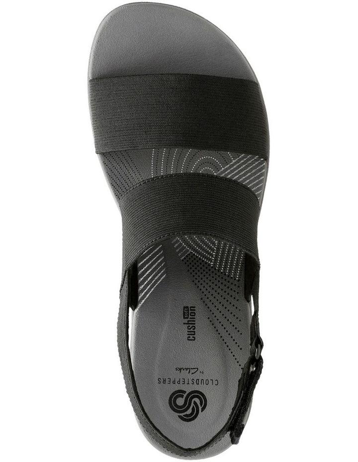 Arla Jacory Black Elastic Sandal image 6
