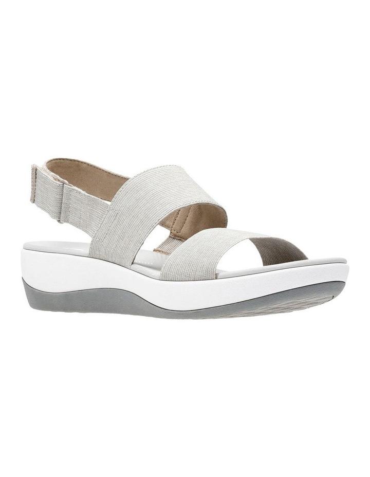 Arla Jacory Sand/White Elastic Sandal image 2
