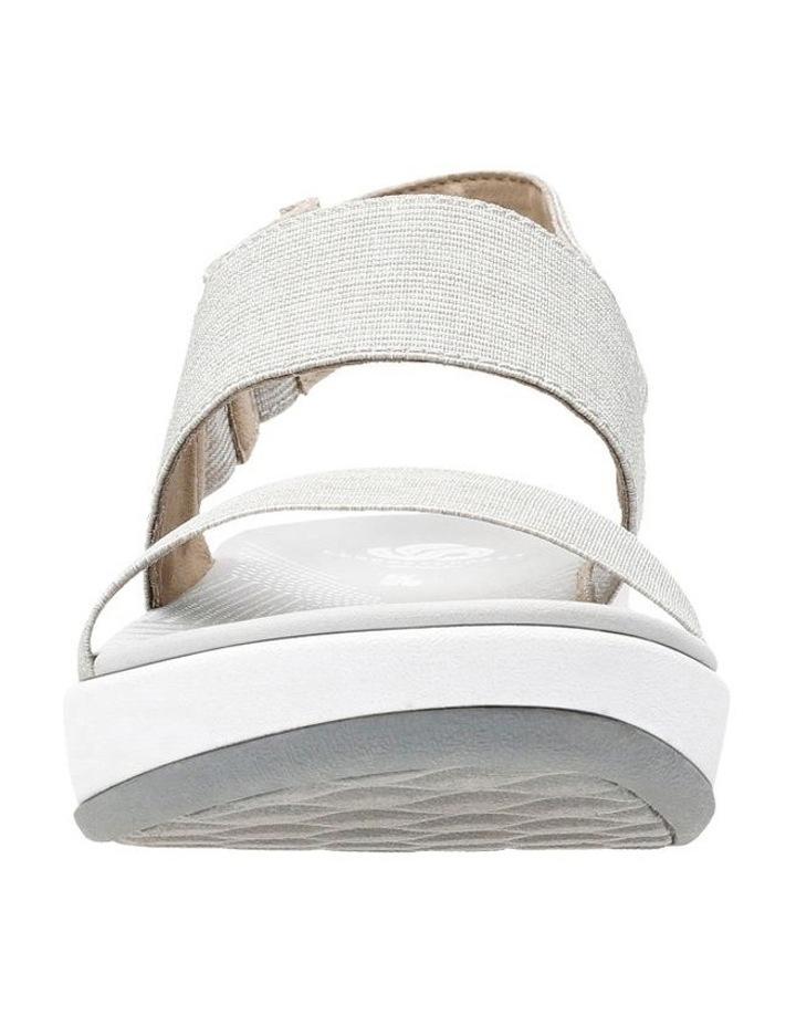Arla Jacory Sand/White Elastic Sandal image 3