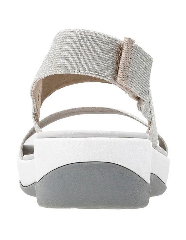 Arla Jacory Sand/White Elastic Sandal image 5