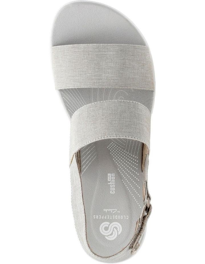 Arla Jacory Sand/White Elastic Sandal image 6