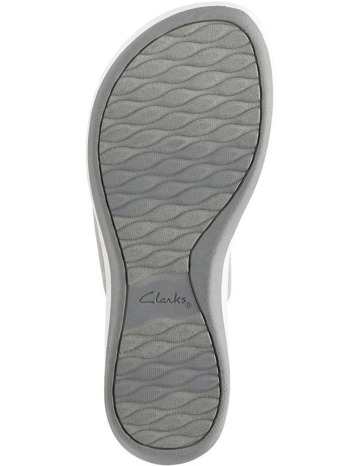 Arla Jacory Sand/White Elastic Sandal image 7