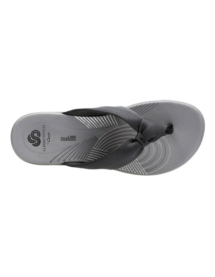 Arla Glison Black Textile Sandal image 6