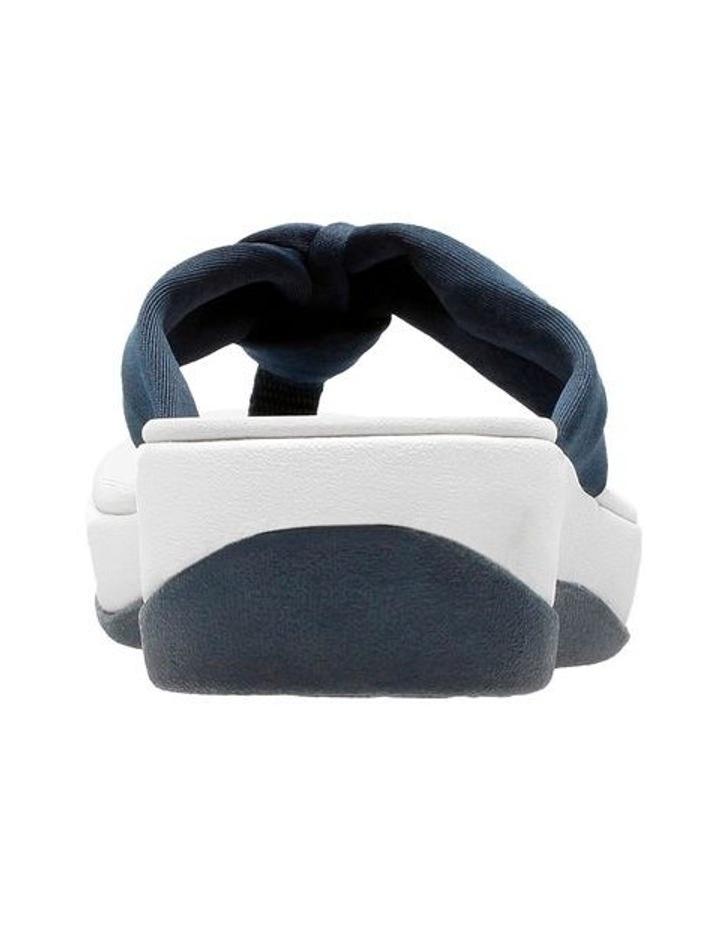Arla Glison Blue Textile Sandal image 5