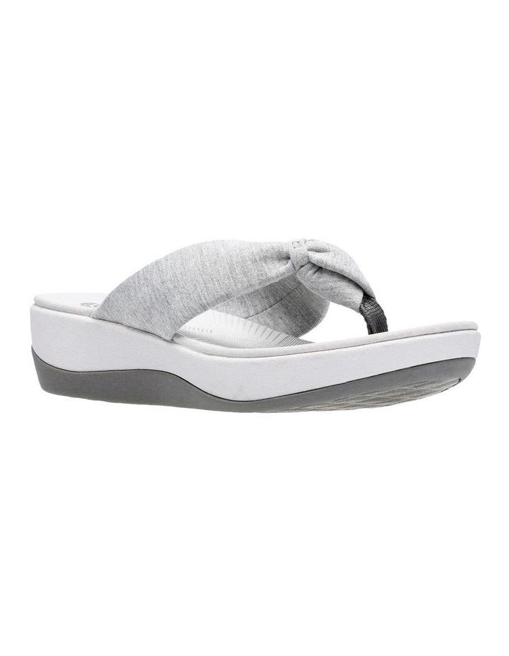 Arla Glison Light Grey Textile Sandal image 2