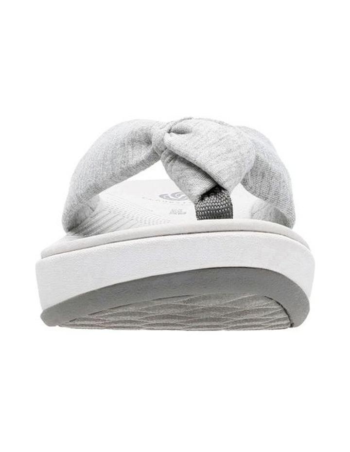 Arla Glison Light Grey Textile Sandal image 3