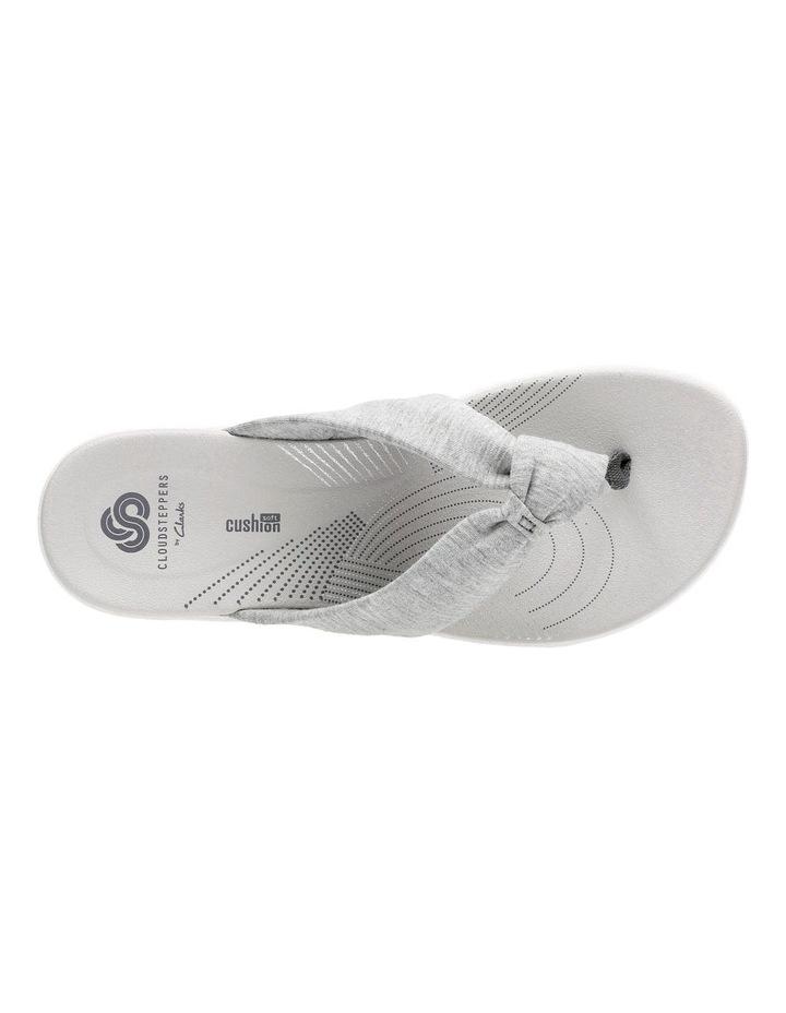 Arla Glison Light Grey Textile Sandal image 6