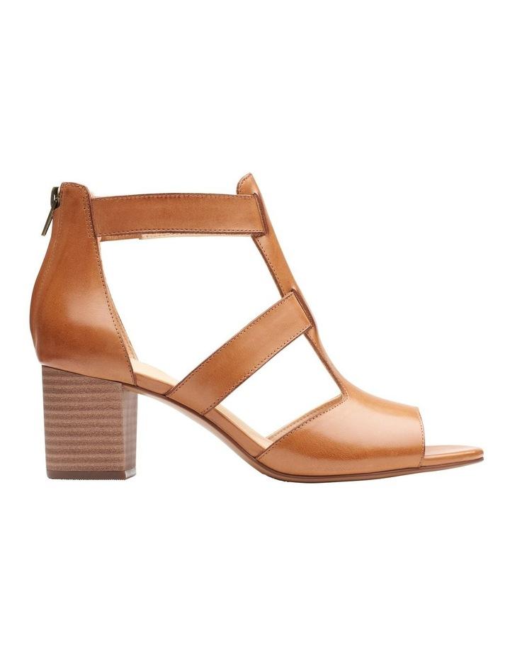 Deloria Fae Tan Leather Sandal image 1