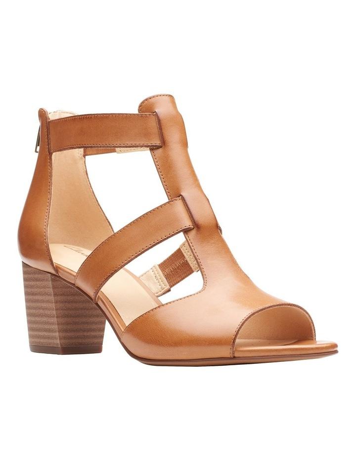 Deloria Fae Tan Leather Sandal image 2