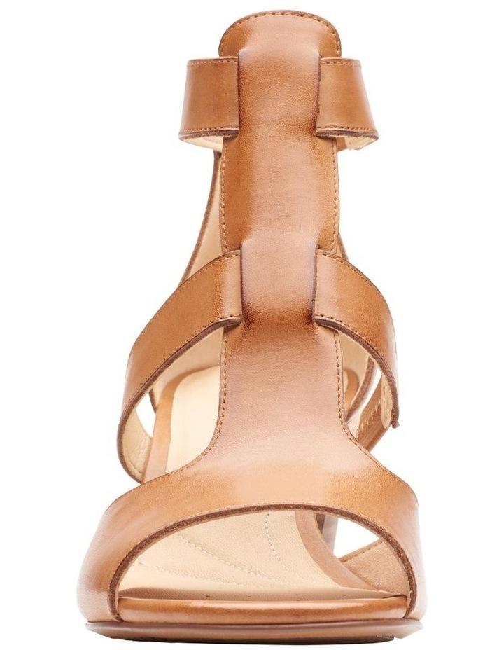 Deloria Fae Tan Leather Sandal image 3