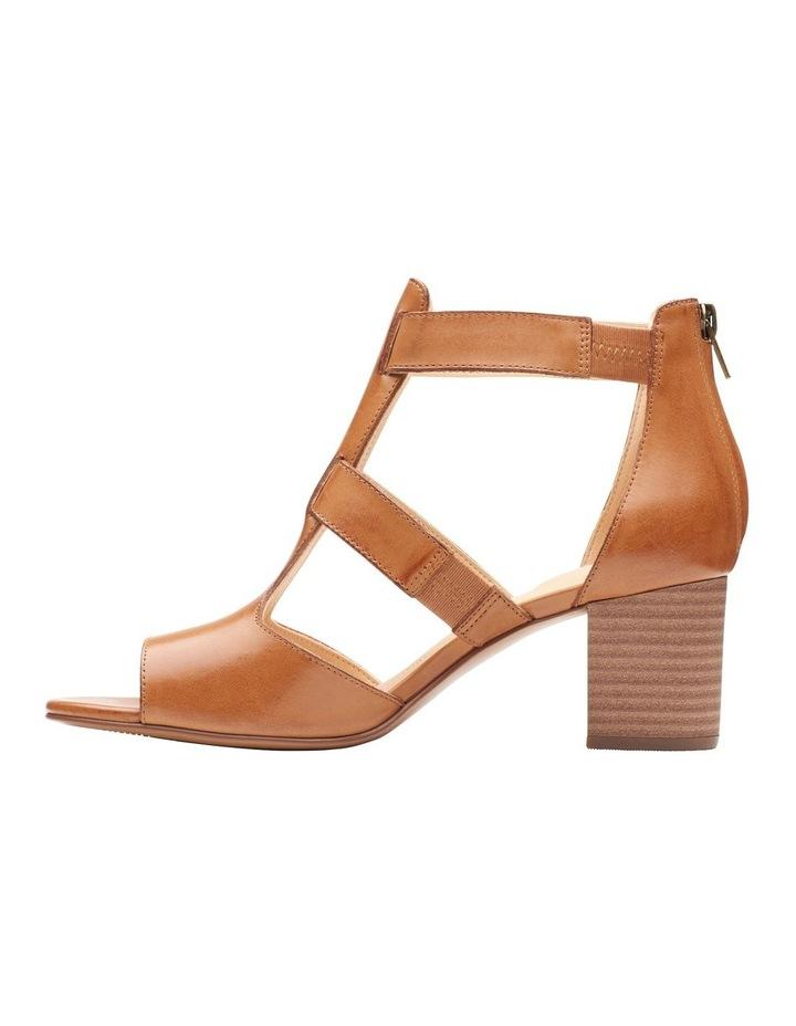 Deloria Fae Tan Leather Sandal image 5