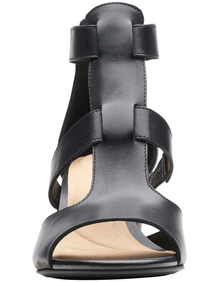 Deloria Fae Black Leather Sandal image 3
