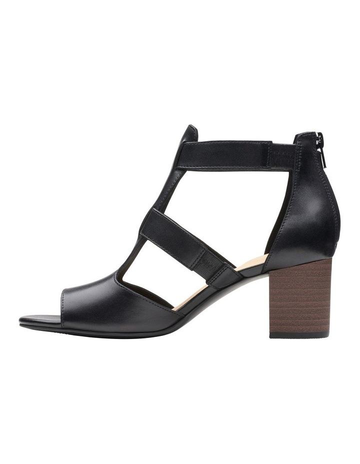 Deloria Fae Black Leather Sandal image 5