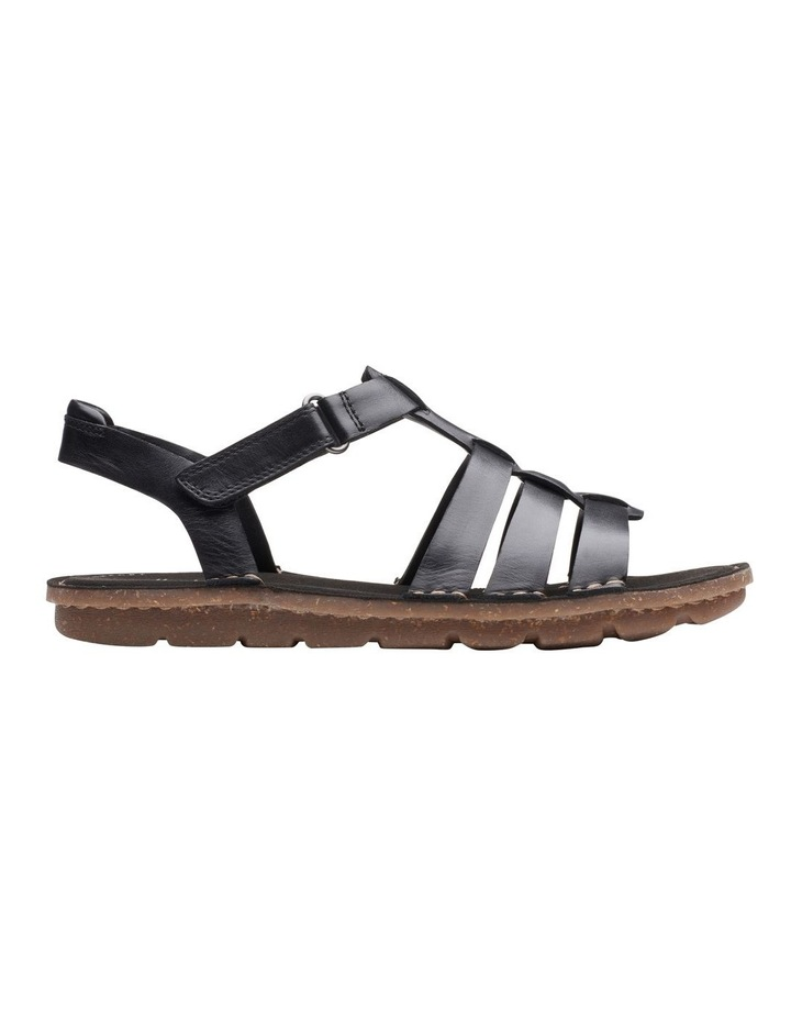 Blake Jewel Black Leather Sandal image 1