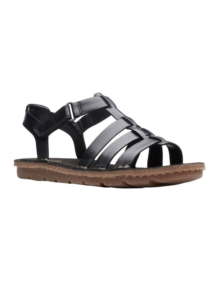 Blake Jewel Black Leather Sandal image 2