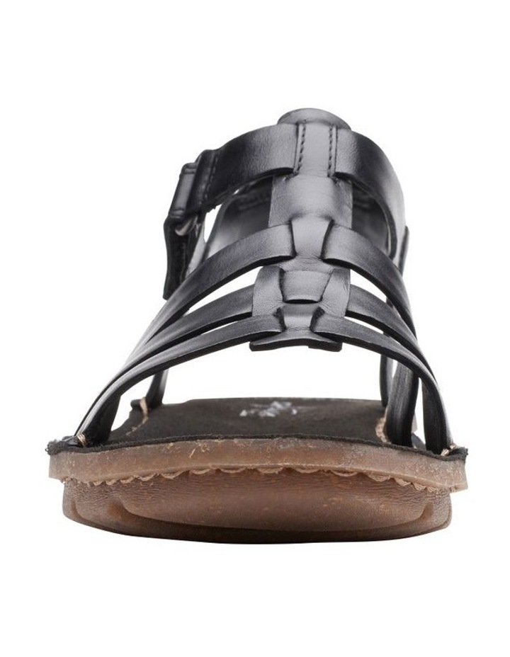 Blake Jewel Black Leather Sandal image 3