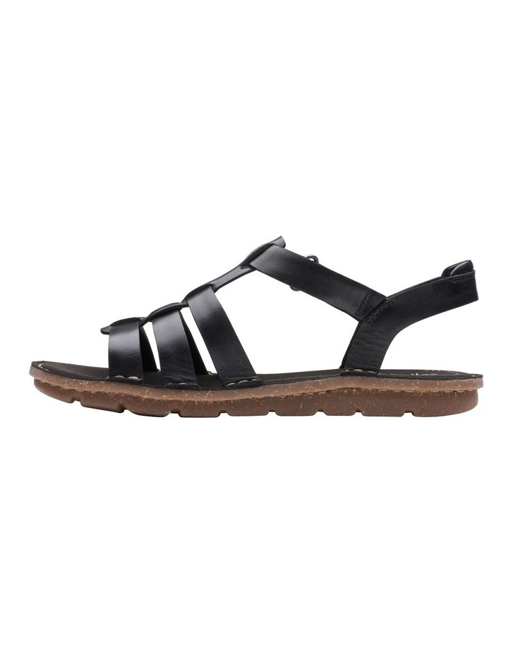 Blake Jewel Black Leather Sandal image 5