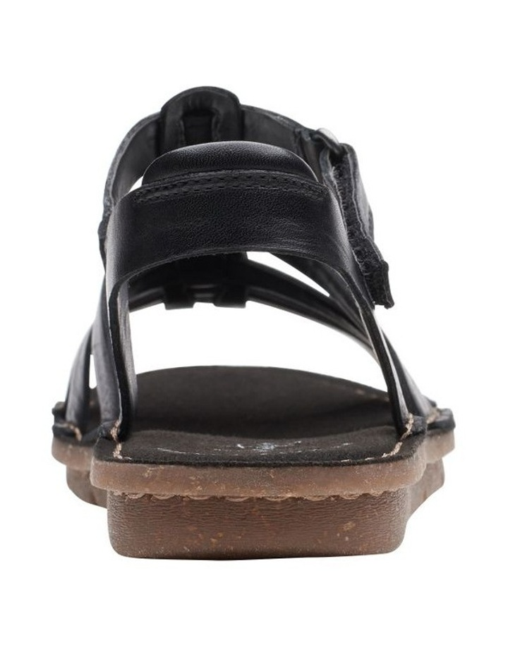 Blake Jewel Black Leather Sandal image 6