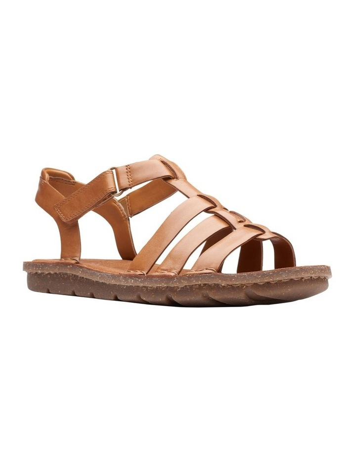 Blake Jewel Tan Leather Sandal image 2