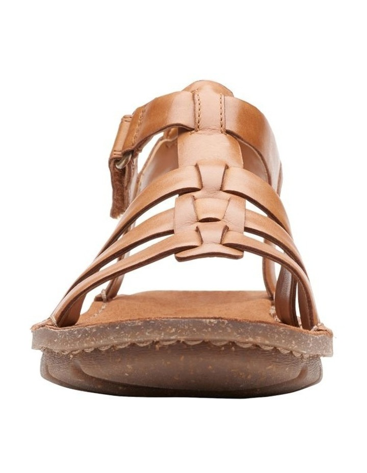 Blake Jewel Tan Leather Sandal image 3