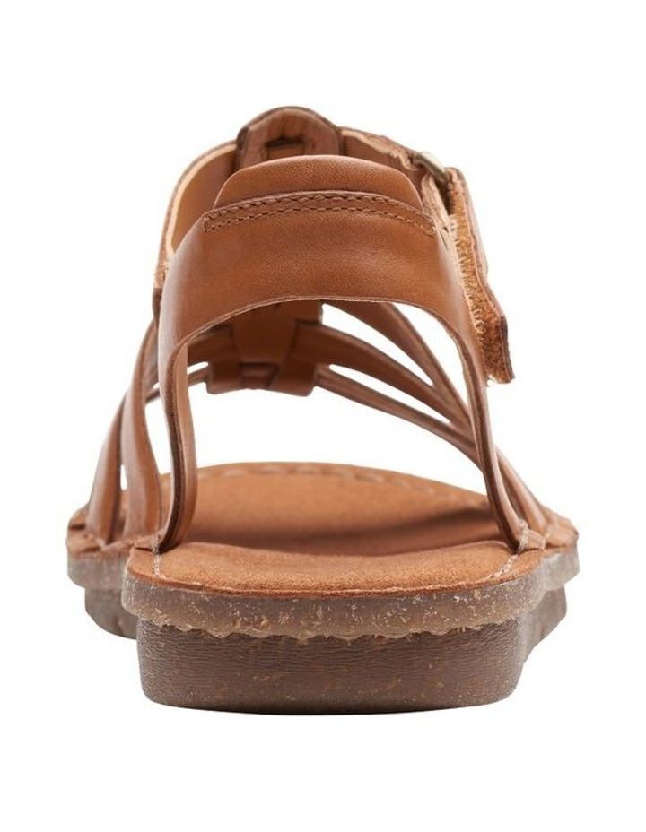 Blake Jewel Tan Leather Sandal image 6