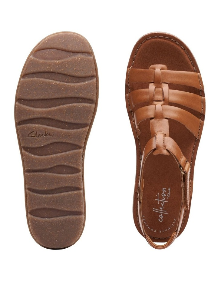 Blake Jewel Tan Leather Sandal image 7