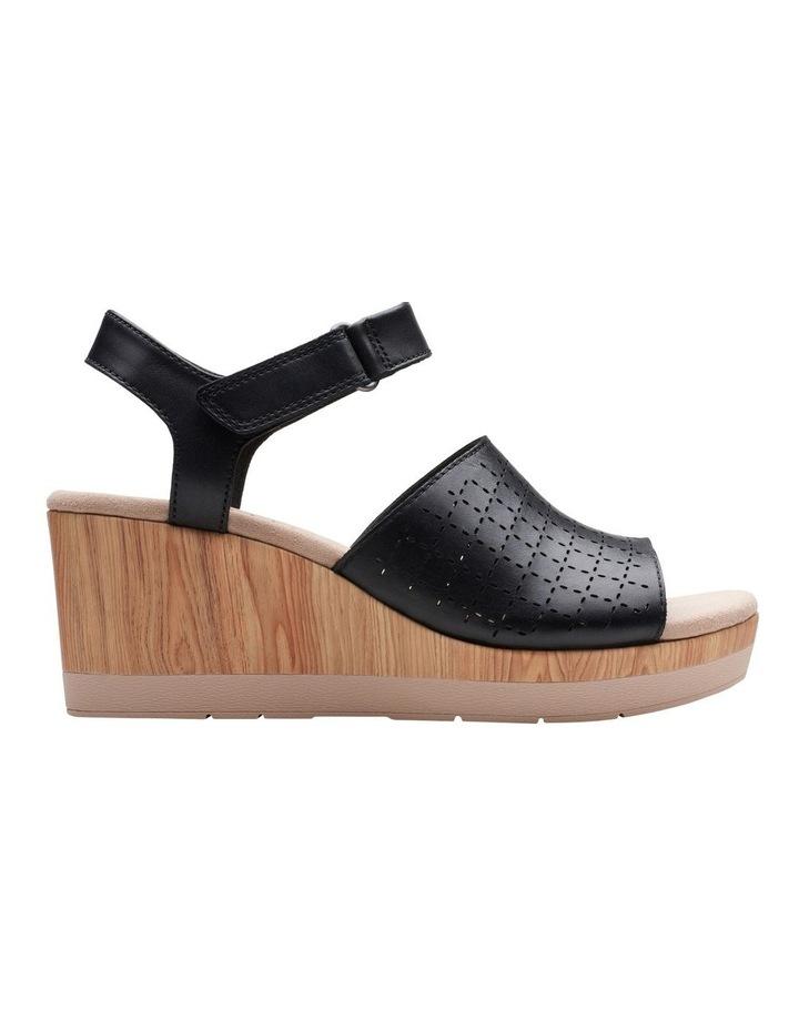 Cammy Glory Black Leather Sandal image 1