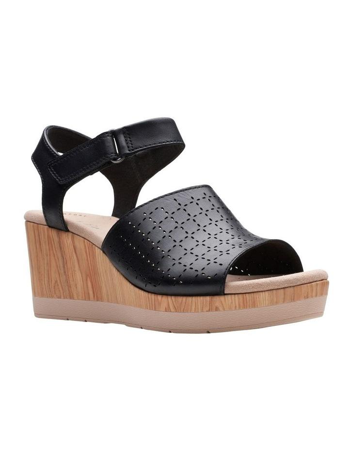 Cammy Glory Black Leather Sandal image 2