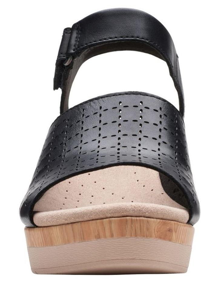 Cammy Glory Black Leather Sandal image 3