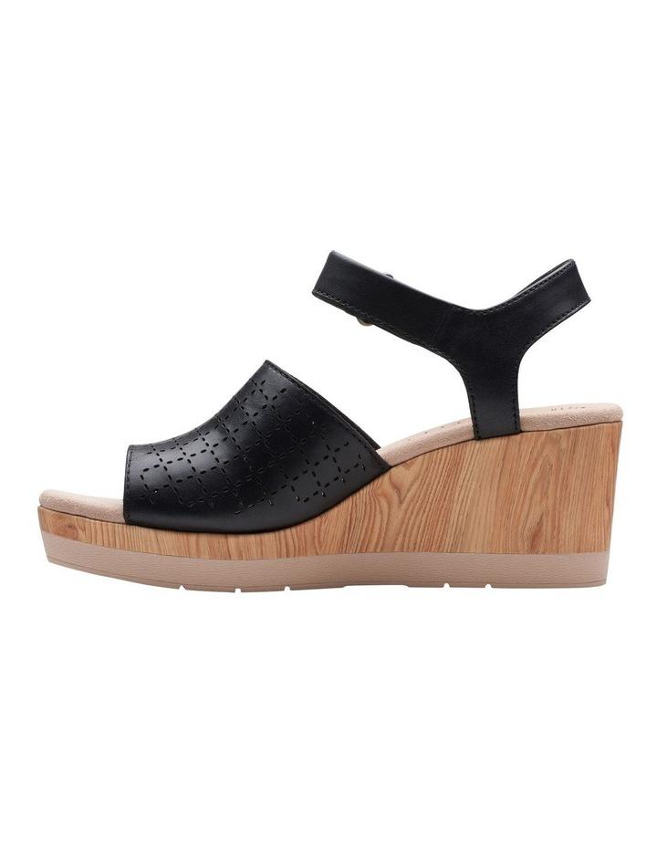Cammy Glory Black Leather Sandal image 5