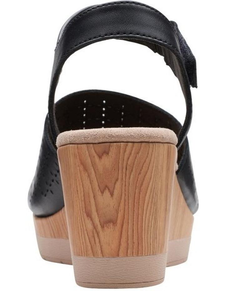 Cammy Glory Black Leather Sandal image 6