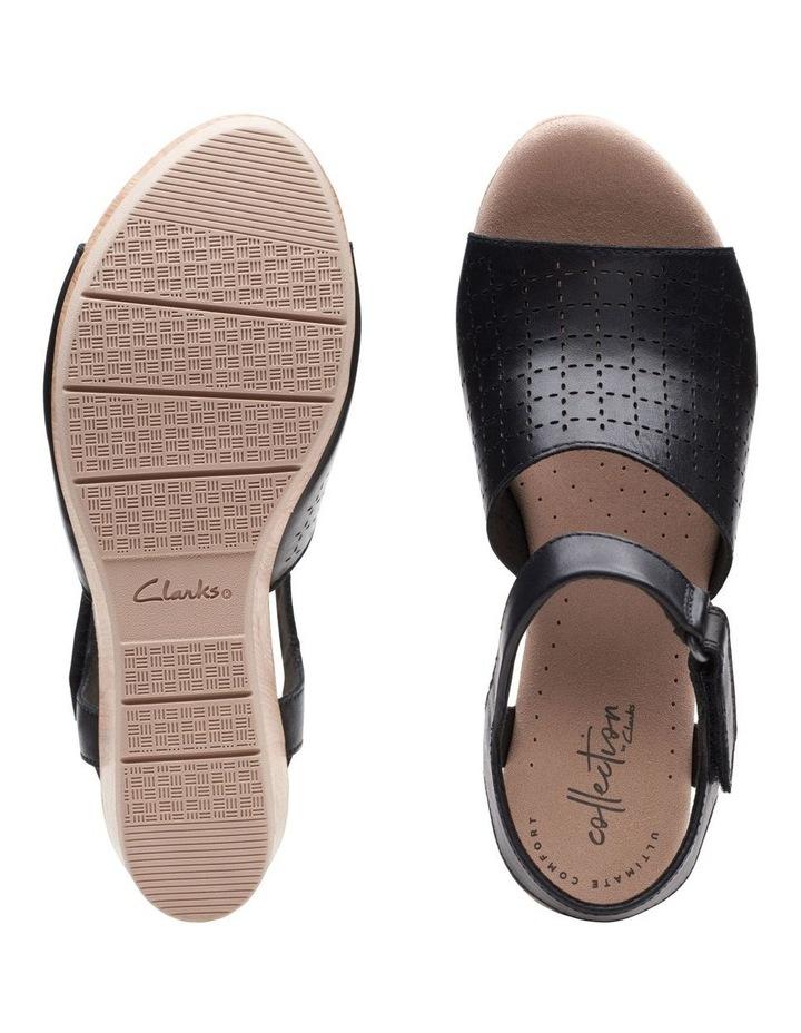 Cammy Glory Black Leather Sandal image 7