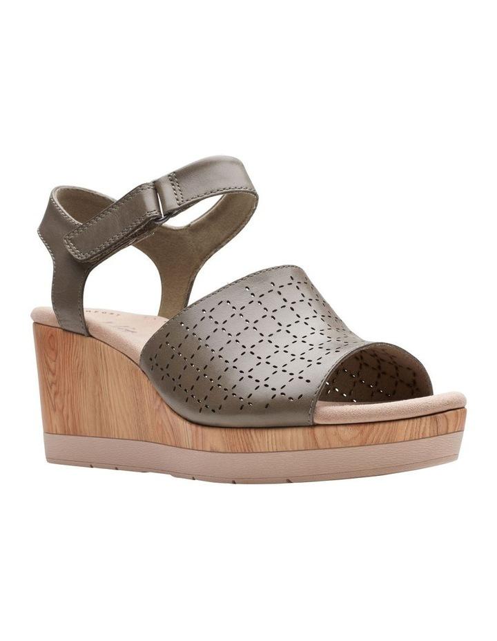 Cammy Glory Olive Leather Sandal image 2