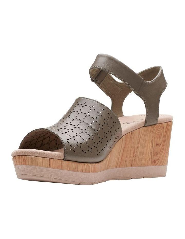 Cammy Glory Olive Leather Sandal image 4