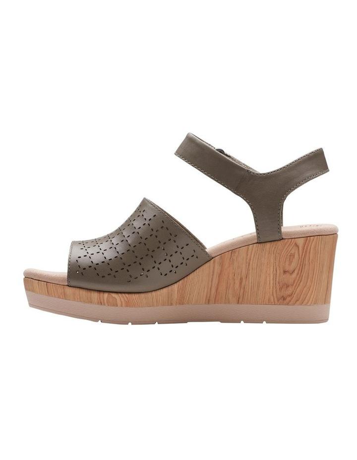 Cammy Glory Olive Leather Sandal image 5