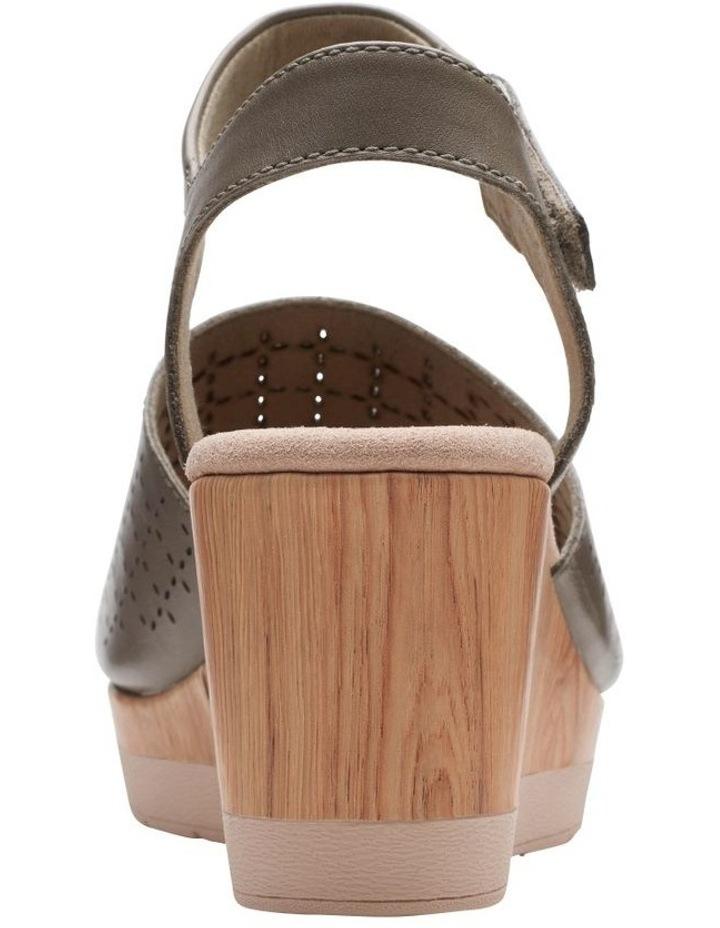 Cammy Glory Olive Leather Sandal image 6