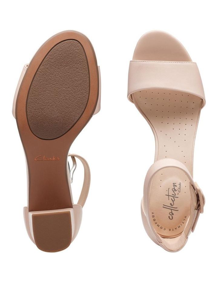 Deva Mae Nude Leather Sandal image 7