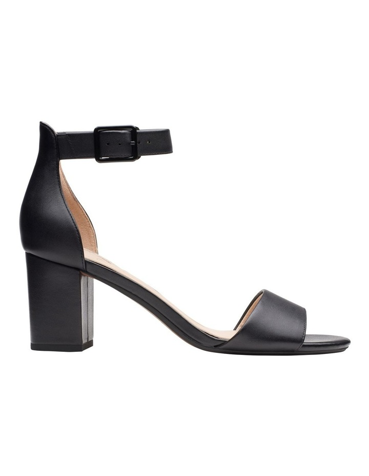 Deva Mae Black Leather Sandal image 1
