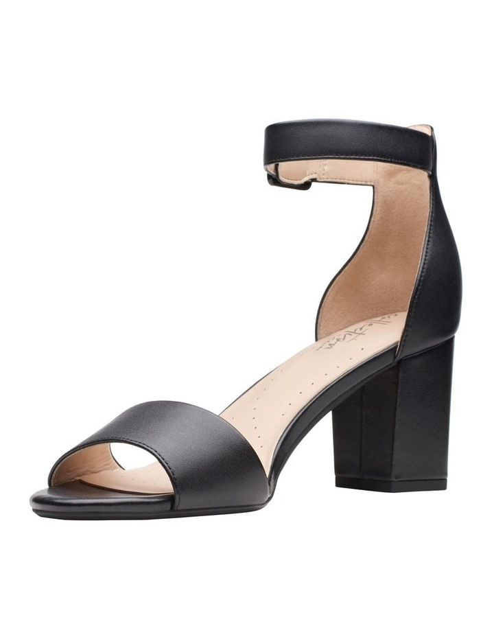 Deva Mae Black Leather Sandal image 4