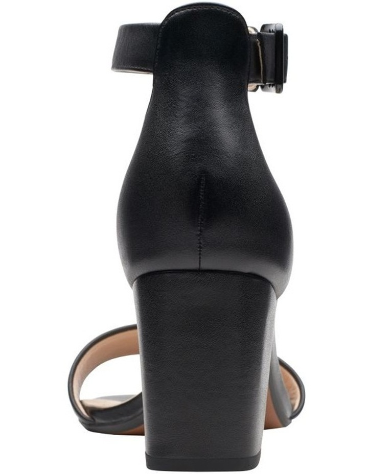 Deva Mae Black Leather Sandal image 6