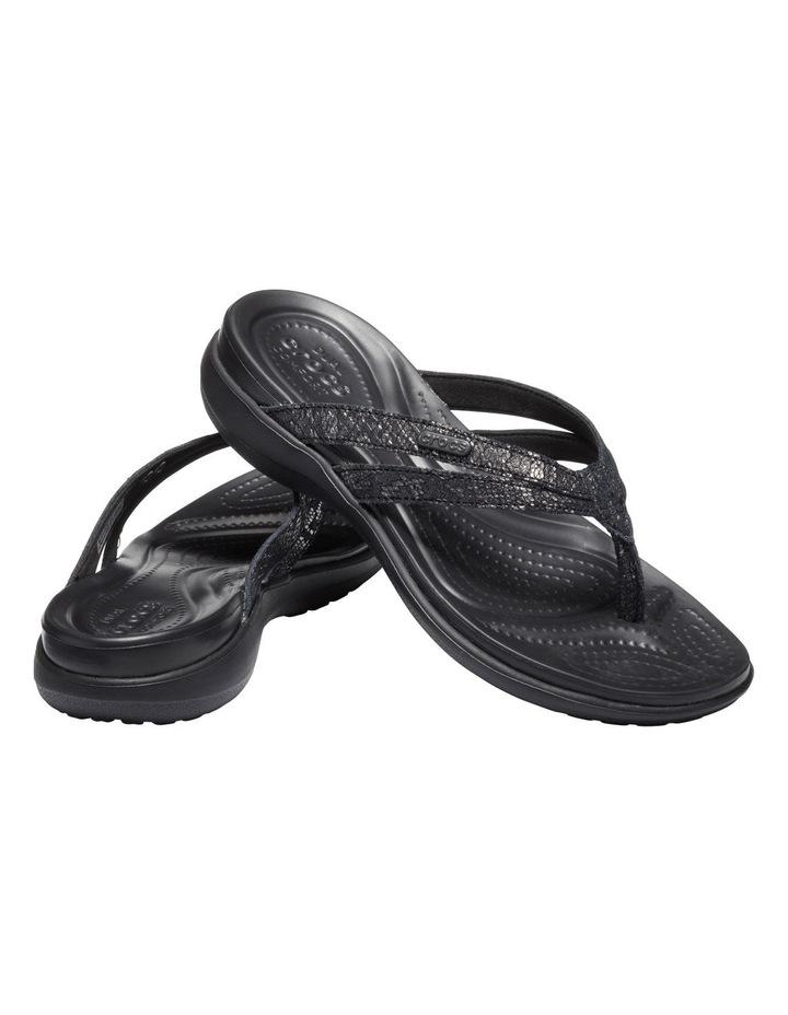Capri Strappy 205478 Black/Black Sandal image 2