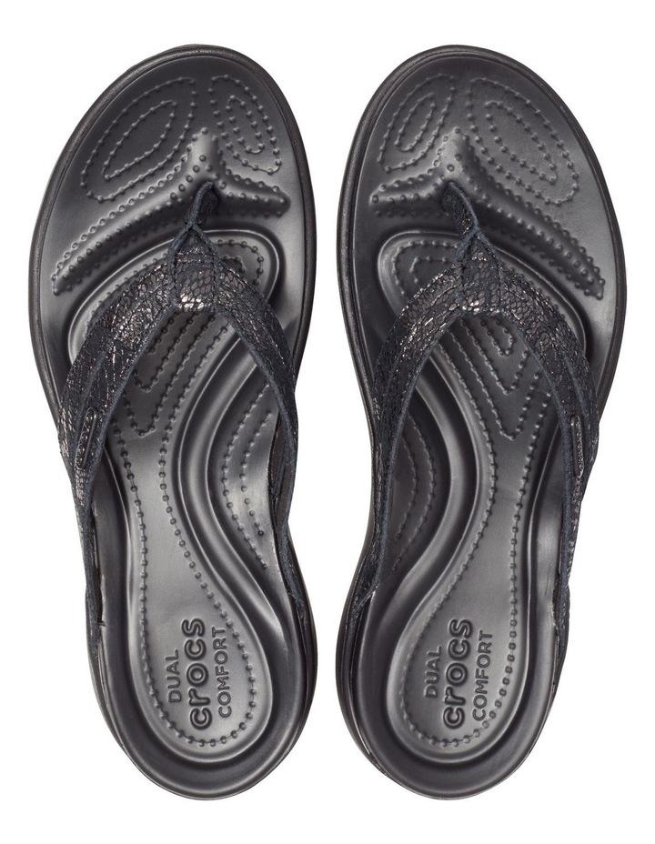 Capri Strappy 205478 Black/Black Sandal image 3