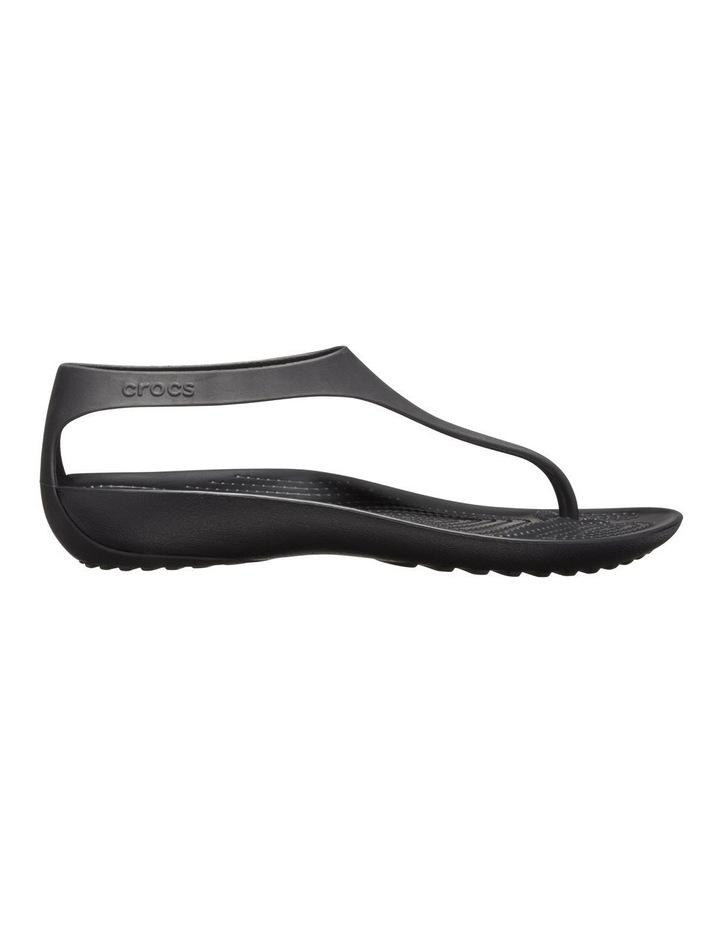Serena Flip 205468 Black/Black Sandal image 1