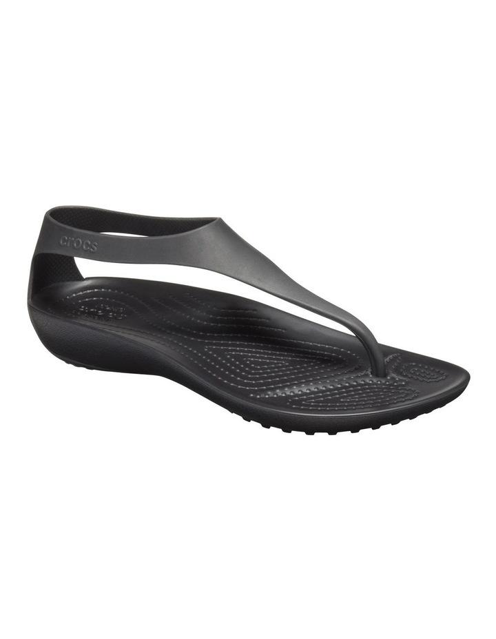 Serena Flip 205468 Black/Black Sandal image 2