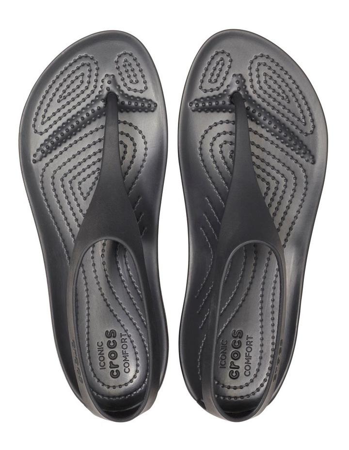 Serena Flip 205468 Black/Black Sandal image 4