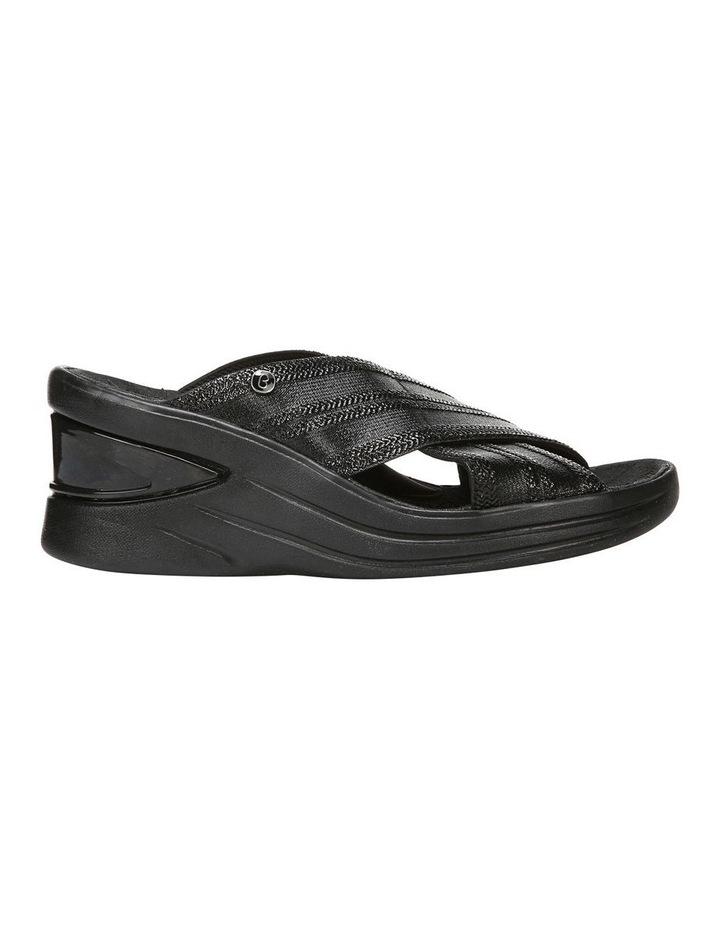 Vista Black Metallic Sandal image 1