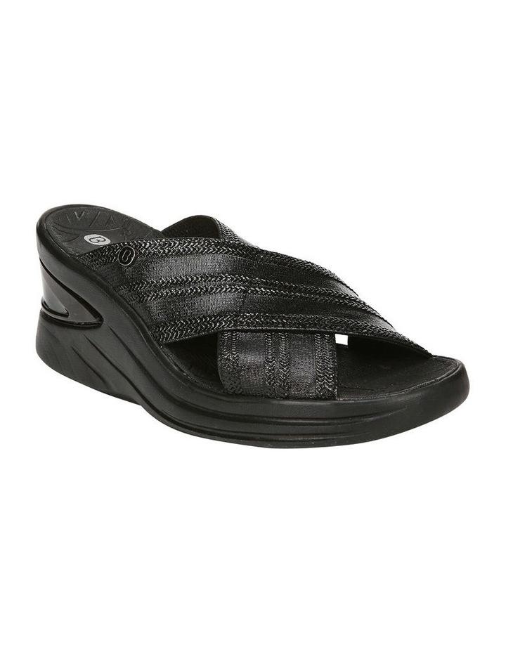 Vista Black Metallic Sandal image 2