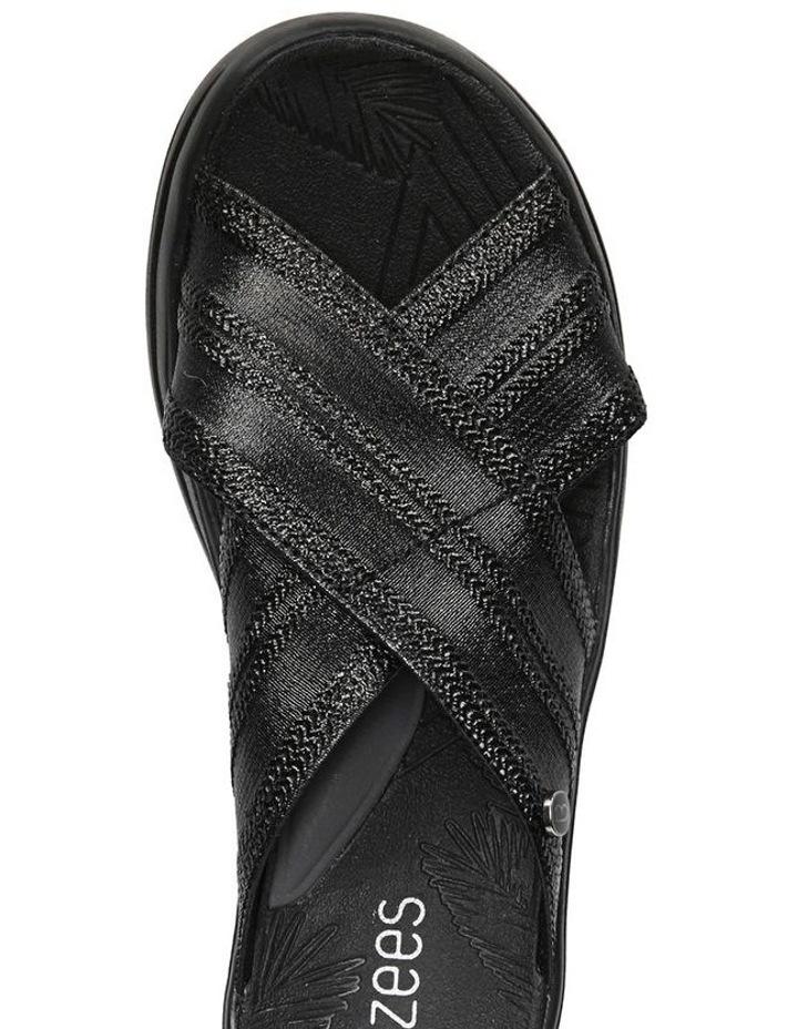 Vista Black Metallic Sandal image 4